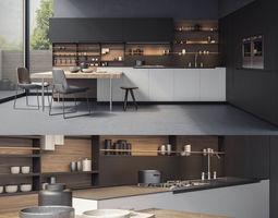 3D Kitchen Poliform PHOENIX