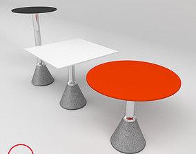 Bristo set tables magis 3D model