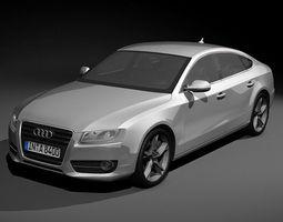 Audi A5 Sportback 2010 quattro 3D model