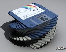 3D model Floppy disk