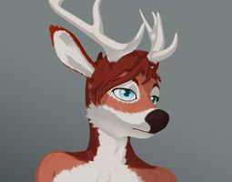 3D model Deer Anthro