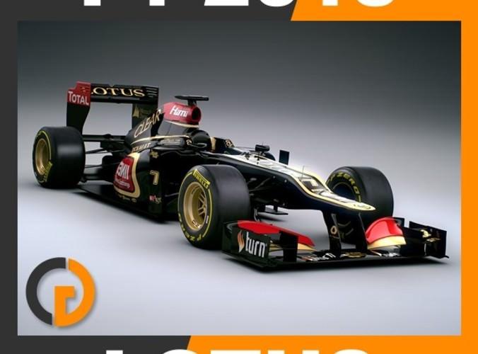 F1 2013 Lotus E21 - Lotus F1 Team3D model