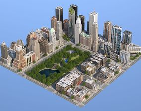 Park City 3D asset