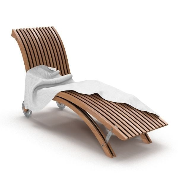 Beach Chair 3d Model Max Obj 1 ...