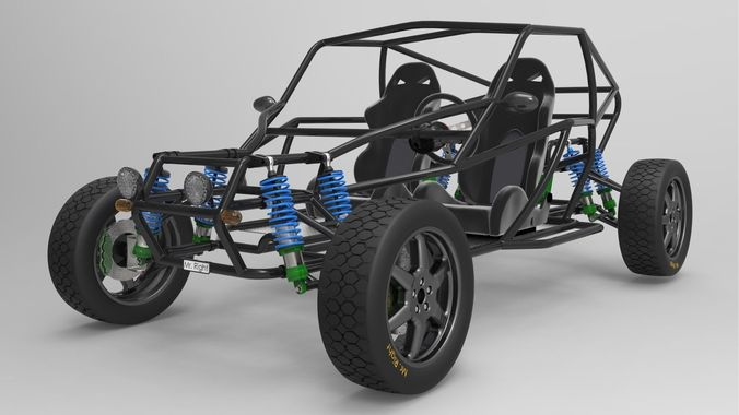 Offroad Buggy Free 3D Model CGTradercom