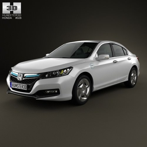 Honda accord phev 2014 3d model max obj 3ds fbx c4d for Honda accord base model