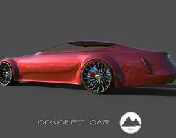 concept car Subject 3D model