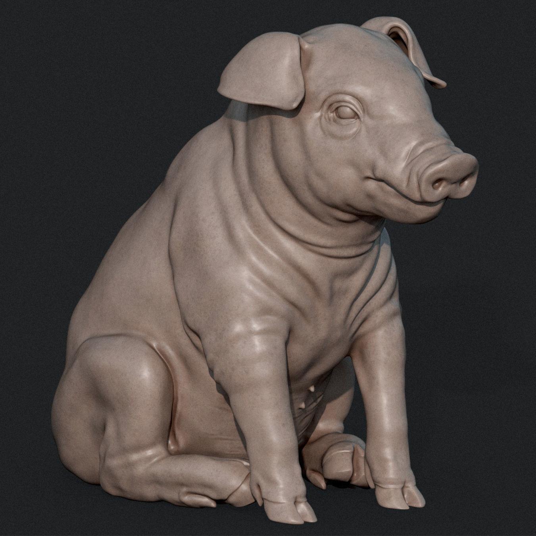 Piglet Sculpture
