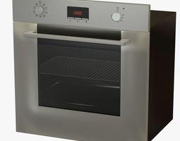 3D model Steel Oven