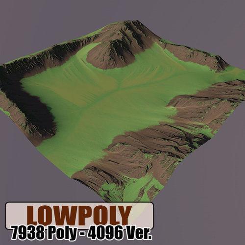 Level Terrain 023D model
