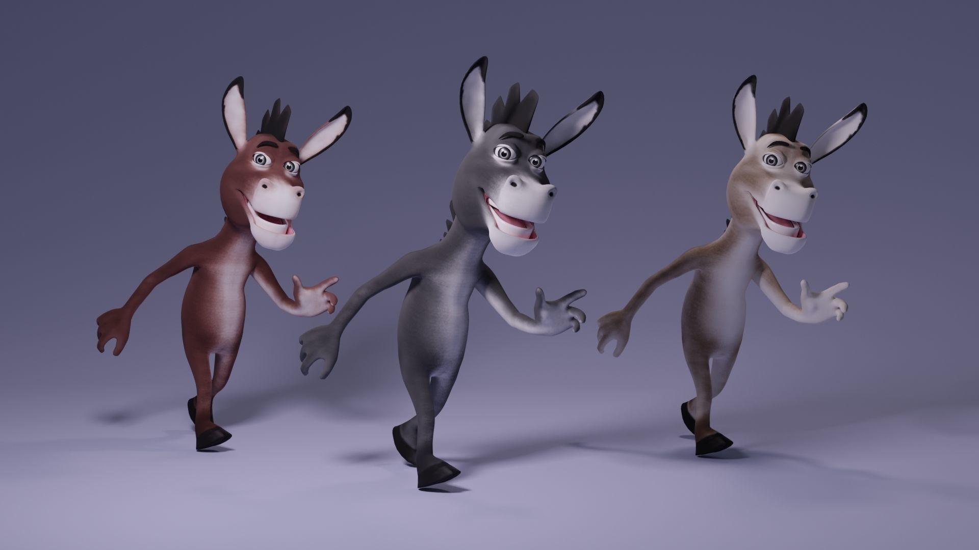 Toon Humanoid Donkey