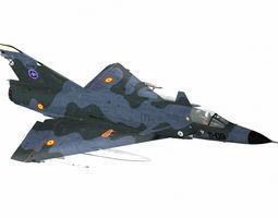 Dassault Mirage III NG 3D asset
