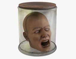 Preserved Head 3D model
