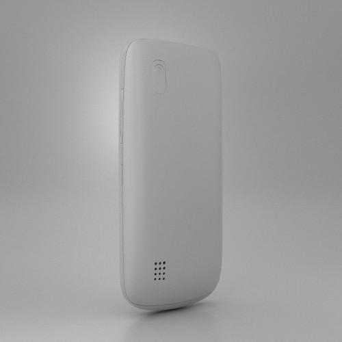 Nokia Asha 300 3D Model Game Ready .max .obj .3ds .fbx