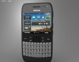 3D asset Nokia E6