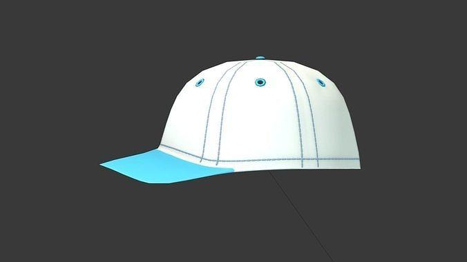 01f748f9169 Baseball Cap 3D model accessory