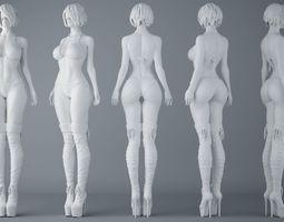 3D print model HD Sexy Bikini Girls