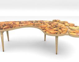 Footprint Coffee Table 3D model