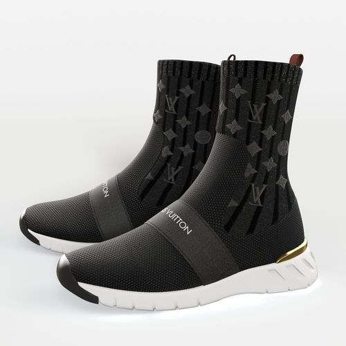3D model AFTERGAME SNEAKER BOOT louis