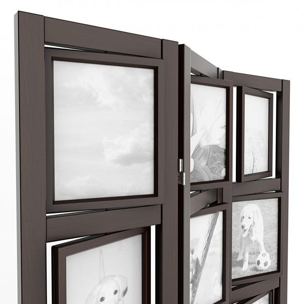 Picture frame room divider 04 3d model max obj 3ds lwo - Room divider picture frames ...