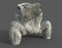 Mouththing 3D asset