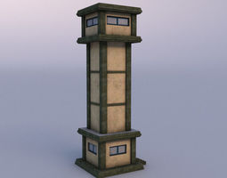 3D asset Watchtower 03