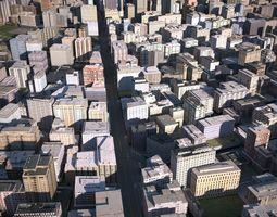 3D asset game-ready City 10