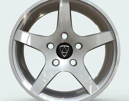 3D asset Affekta Rim 1 Sport Tuning Design Concept