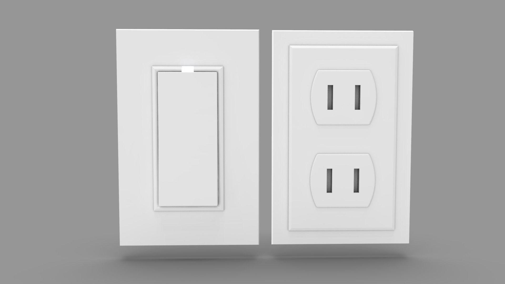 Wall Switch and Plug Socket