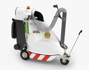 3D asset Electric Vacuum for Urban and Industrial