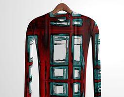 3D Shirt Sweatshirt and Hanger