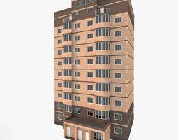 Residential House Building Part 3 3D model