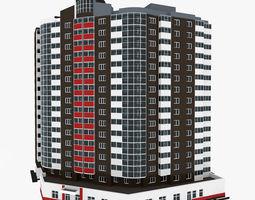3D model Residential House Building Part 10
