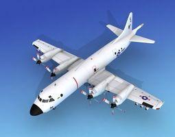 3D model Lockheed P-3 Orion US Navy 5 Hp