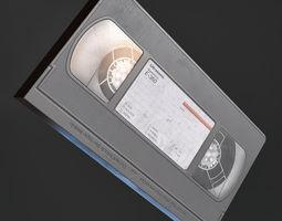 VHS Tape 3D model