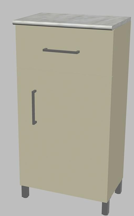 Bathroom Cabinet 3d Model Dwg