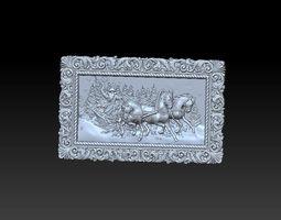 Santa Claus mold 3D print model