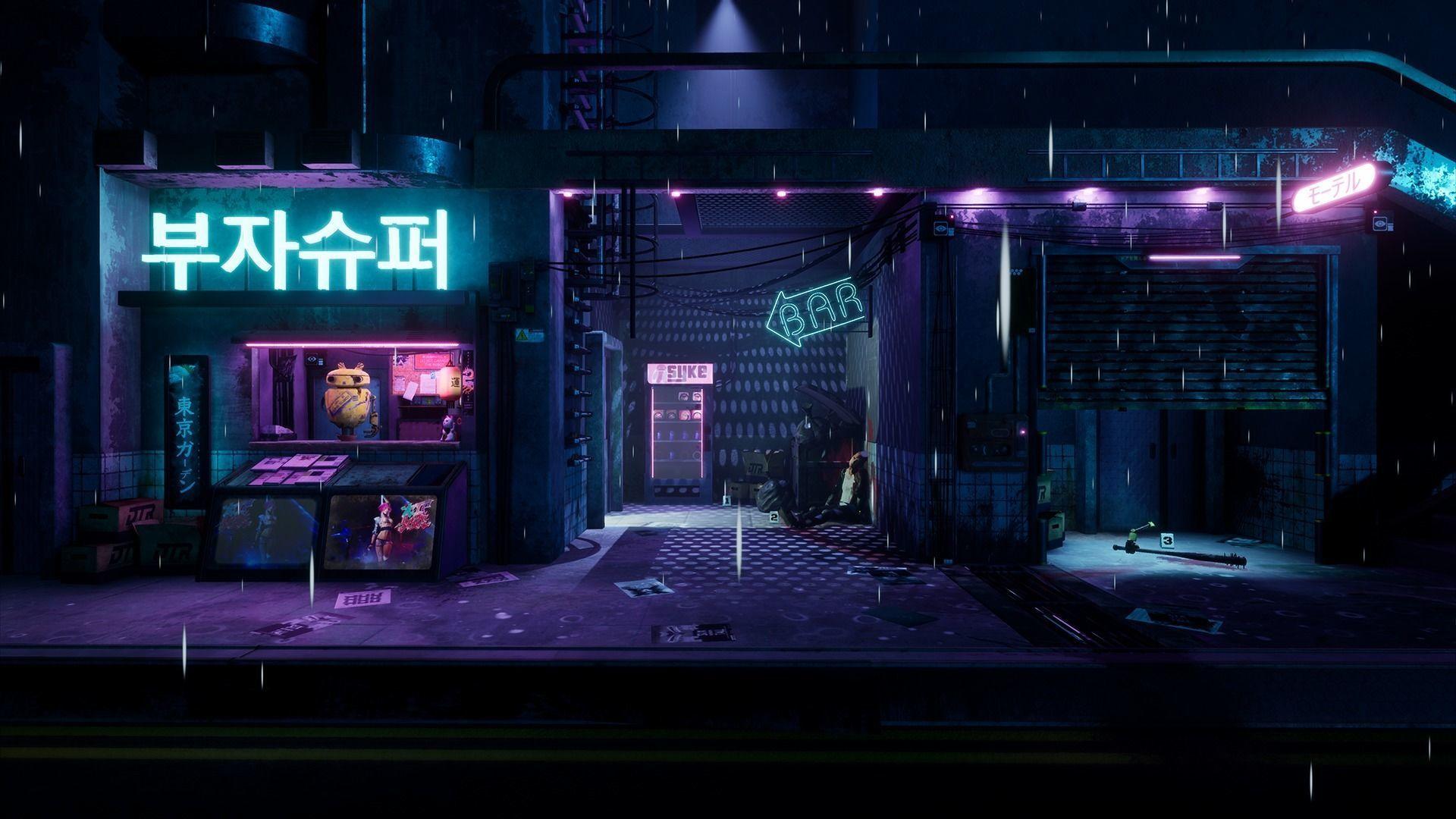 Cyberpunk Grunge Sci-Fi Asset Pack
