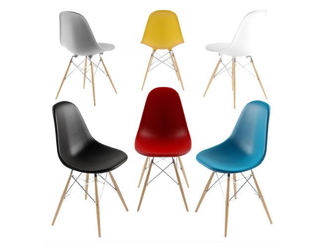 eames chair 3d model max obj mtl 3ds fbx stl dae 1