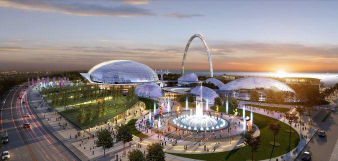 Amusement park 0023D model