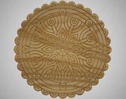3D printable model Wooden Trivet