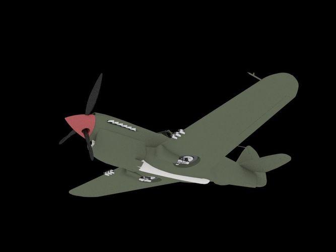 Curtiss P-403D model