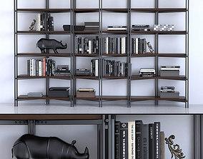 3D model Cattelan Italia Bookcase Hudson