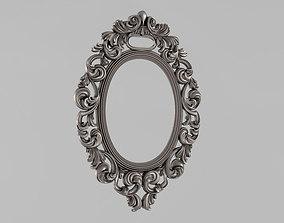 3dprint Frame mirror 3D printable model