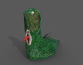3D model Snake Monster