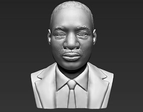 Martin Luther King bust 3D printing ready stl obj formats