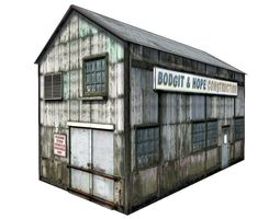 Old Repair Garage 3D model