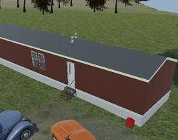 mobile home 3D exterior