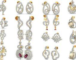 Bulk Earrings-0013-3dm with stones-53 Files