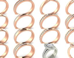 Bulk Rings-0054-3dm with and without stones-51 Files